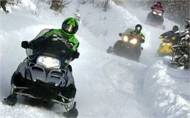 Snowmobile tours in Bansko