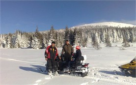 Snowmobile tours in Borovets