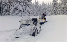 Snowmobile tours in Bulgaria