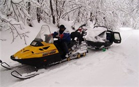 Snowmobiling and guided tours in Borovets
