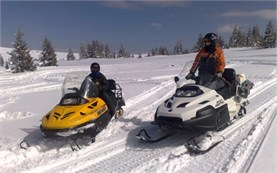 Snowmobiling in Sofia