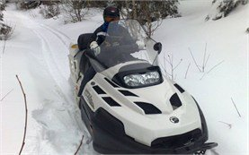 Snowmobiling tours in Borovets