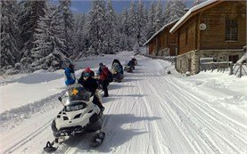 Snowmobiling tours in Europe