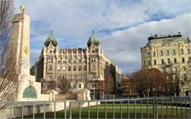 Съветски паметник в Будапеща