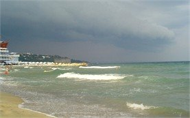 Stormy Sea at St Konstantin and Elena