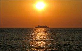 Sunset landscape - free ecard