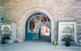 The entrance of Bachkovo monastery