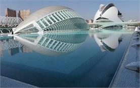 Valencia - Hemispheric Art building
