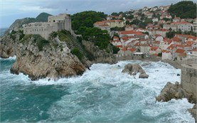 Walled city of Dubrovnik: