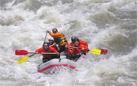 White water rafting in Bulgaria