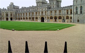 Windsor castle - front yard