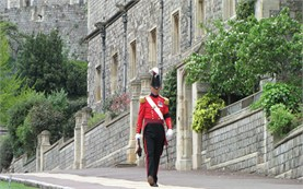 Windsor Castle - man in uniform