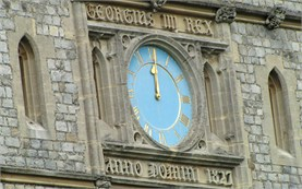 Windsor - Tower clock