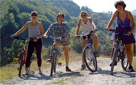 Women bicycle tours in Bulgaria