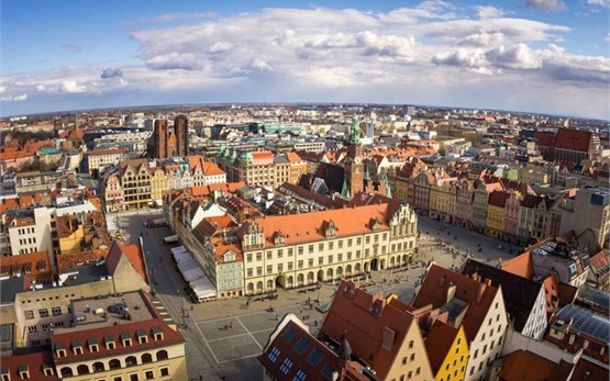 Breslavia Polonia - casco antiguo