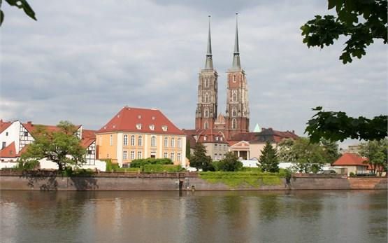 Wroclaw Poland - Cathedral island