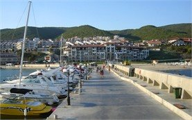 Yacht Port in St Vlas