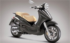 Piaggio Beverly 300cc scooter rental in Sardinia - Alghero