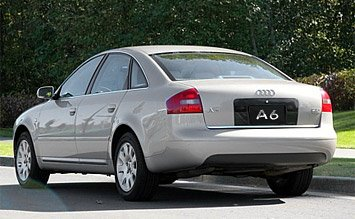 Вид сзади » 2001 Ауди A6