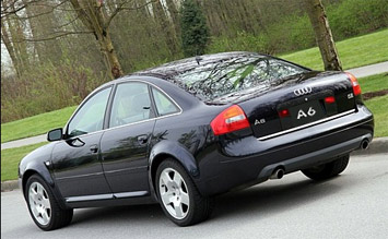 Rear view » 2001 Audi A6 QUATTRO
