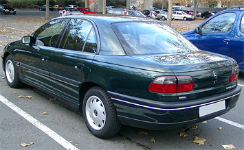 Rear view » 2001 Opel Omega