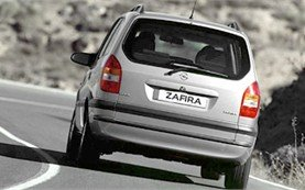 Rear view » 2001 Opel Zafira 6+1