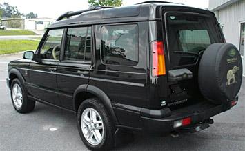 Rear view » 2002 Land Rover Discovery - photos