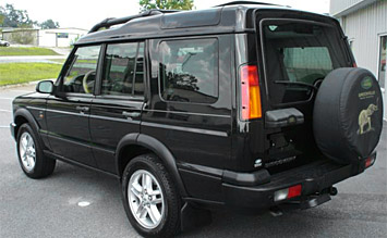 Rear view » 2002 Land Rover Discovery