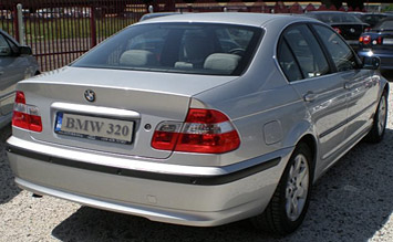 Rear view » 2004 BMW 320 D