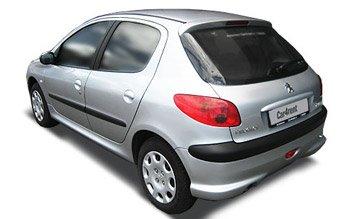 Rear view » 2004 Peugeot 206