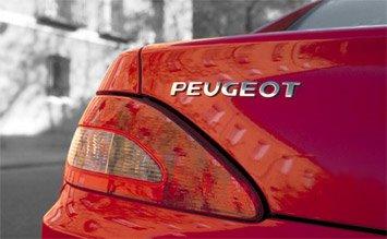 Rear view » 2004 Peugeot 406