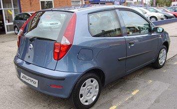 Rear view » 2005 Fiat Punto