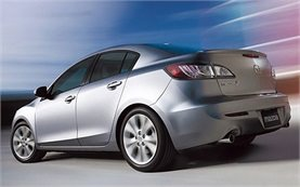 Rear view » 2010 Mazda 3 Sedan