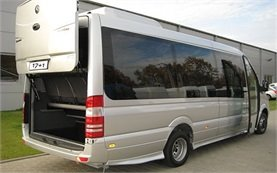 Rear view » 2009 Mercedes Sprinter 17+1
