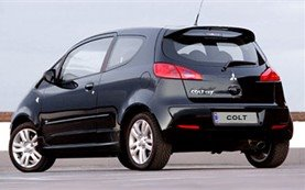 Rear view » 2005 Mitsubishi Colt