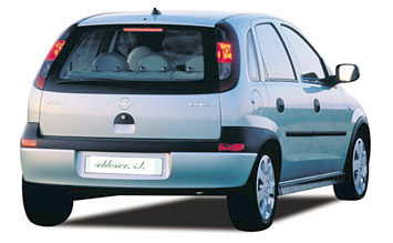 Rear view » 2005 Opel Corsa