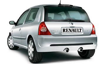 Rear view » 2005 Renault Clio