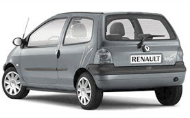 Rear view » 2005 Renault Twingo