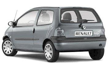 Rear view » 2005 Renault Twingo