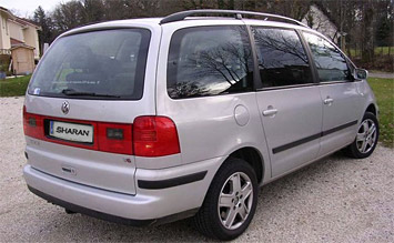 Rear view » 2005 Volkswagen Sharan