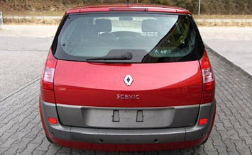 Rear view » 2006 Renault Scenic