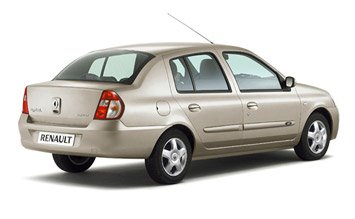 Rear view  » 2006 Renault Symbol