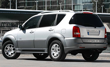 Rear view » 2006 SsangYong Rexton
