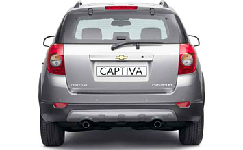 Rear view » 2007 Chevrolet Captiva 5+2