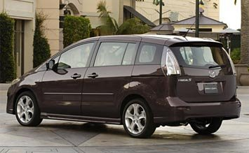 Rear view » 2007 Mazda 5 Minivan