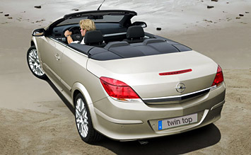 Rear view » 2007 Opel Astra TwinTop Cabriolet