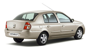 Rear view  » 2007 Renault Symbol