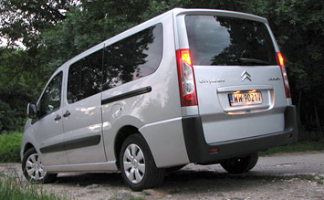 Rear view » 2007Citroen Jumpy 8+1
