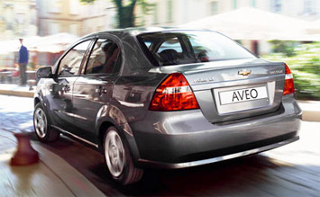 Rear view » 2008 Chevrolet Aveo