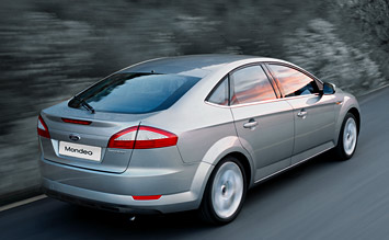 Rear view » 2008 Ford Mondeo